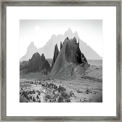 The Edge Framed Print by Mike McGlothlen