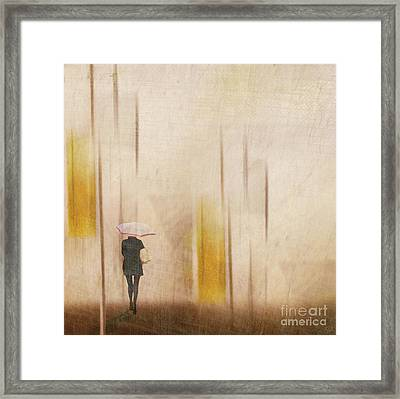 The Edge Of Autumn Framed Print