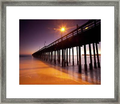 The Edge Of Evening Framed Print