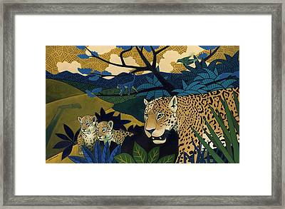 The Edge Of Paradise Framed Print