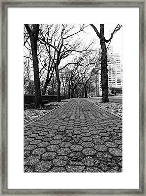 Framed Print featuring the photograph The Edge Of The Upper East Side by Lora Lee Chapman