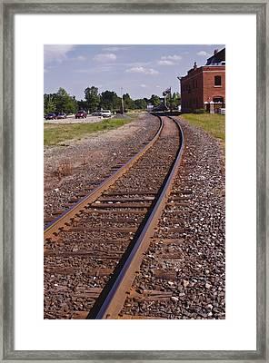 The Edge Framed Print by Xn Tyler
