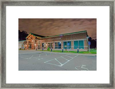 The Egan Center Framed Print by Brian MacLean