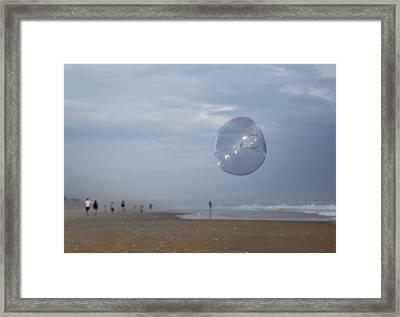 The Egg Bubble Framed Print by Betsy Knapp