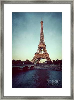 Framed Print featuring the photograph The Eifeltower by Hannes Cmarits