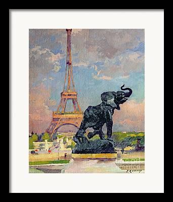 Animals In Gardens Framed Prints