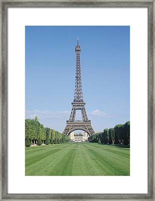 The Eiffel Tower Framed Print by French School