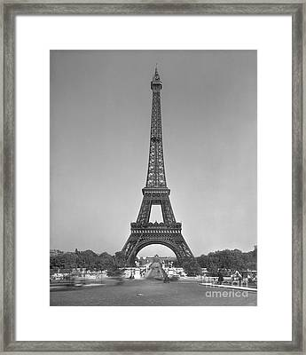 The Eiffel Tower Framed Print by Gustave Eiffel