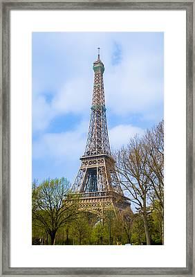 The Eiffel Tower In Paris, France Framed Print by Nila Newsom