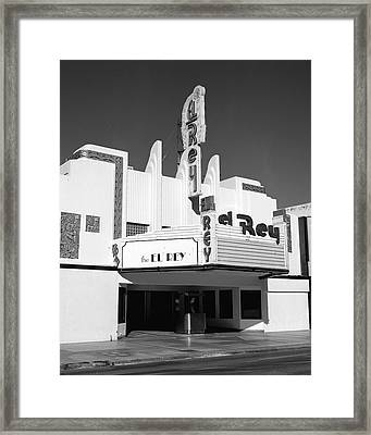 The El Rey Framed Print