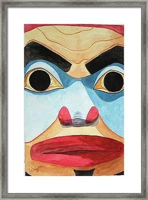 The Elder Framed Print by Larry Wright