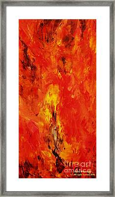 The Elements Fire #1 Framed Print