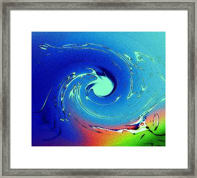 The Elements Framed Print by Steve K
