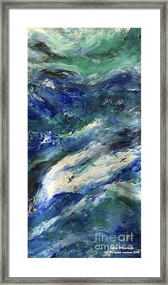 The Elements Water #4 Framed Print
