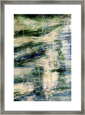 The Elements Water #5 Framed Print