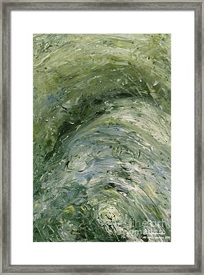 The Elements Water #6 Framed Print