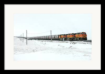 Diesel Locomotives Framed Prints