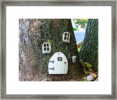 The Elf House Framed Print