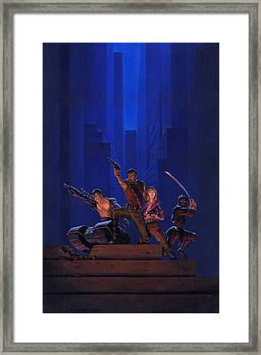 The Eliminators Framed Print by Richard Hescox
