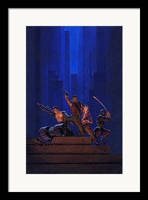 Assassin Framed Prints