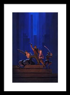 Saga Framed Prints