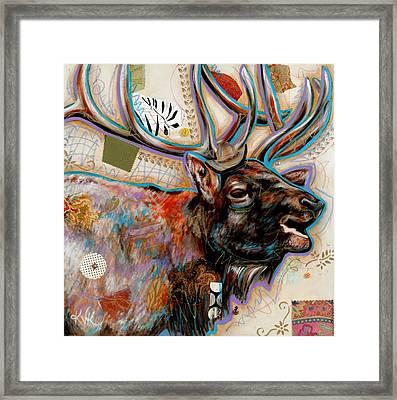 The Elk Framed Print