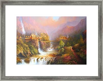 The Elves Kingdom Framed Print