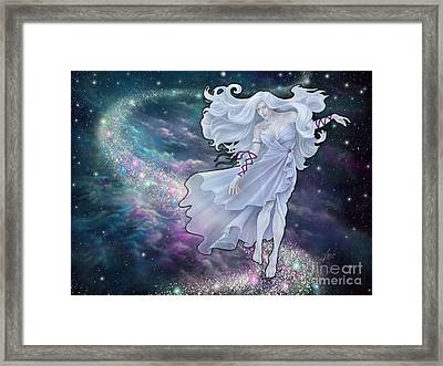 The Emancipation Of Galatea Framed Print by Amyla Silverflame