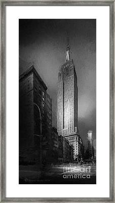 The Empire State Ch Framed Print