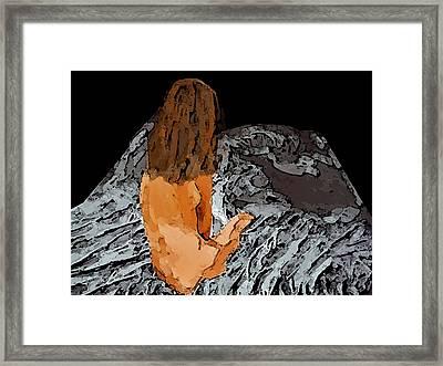 The Empty Side Framed Print by Lisa McKinney