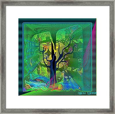 The Enchanted Forest Framed Print by Carola Ann-Margret Forsberg