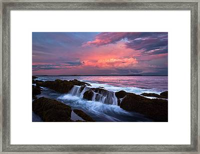 The End Framed Print by Benjamin Williamson