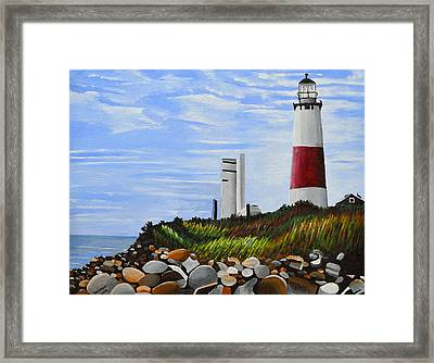 The End Framed Print by Donna Blossom