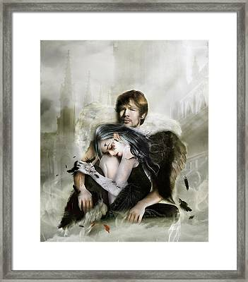 The End Is Nigh Framed Print by Mary Hood