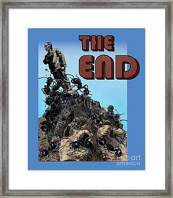The End Framed Print by Joseph Juvenal