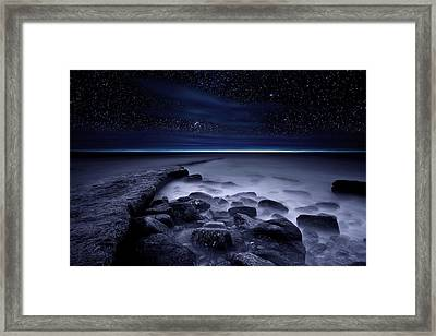 The End Of Darkness Framed Print