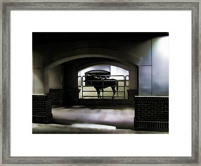 The End Of Excitement Framed Print by Douglas Barnard