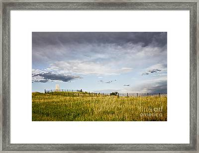Framed Print featuring the photograph The End Of It All by Sandy Adams