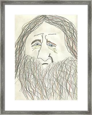 The End Of Merlin Framed Print