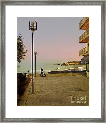 The End Of Summer Framed Print by Louise Fahy