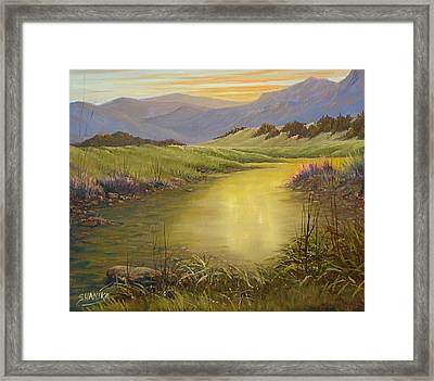 The End Of The Day 070714-79 Framed Print by Kenneth Shanika