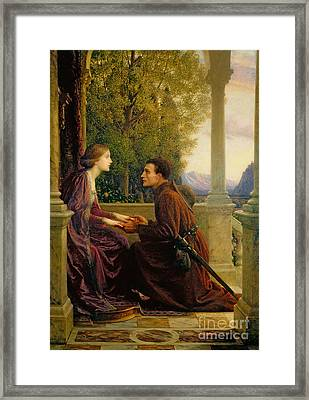 The End Of The Quest Framed Print