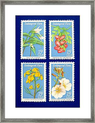 The Endangered Flora Framed Print by Lanjee Chee