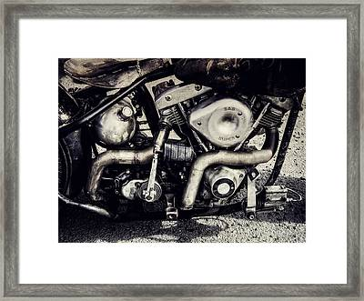 Framed Print featuring the photograph The Engine by Ari Salmela