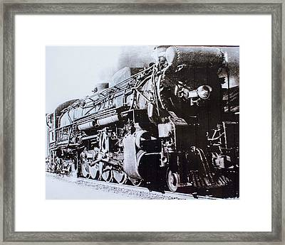 Framed Print featuring the photograph The Engine  by Jeanne May