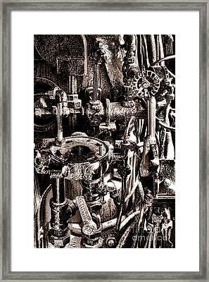 The Engineer World Framed Print