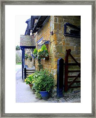 The English Entrance Framed Print