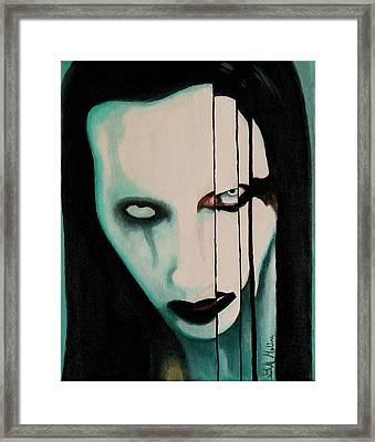 The Enigma Marilyn Framed Print by Al  Molina