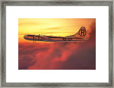 Enola Gay B-29 Superfortress Framed Print by David Collins