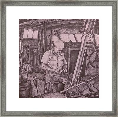 The Entanglement Framed Print by Barry Alan Victor